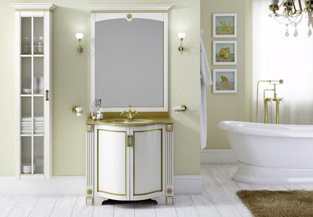 Белая классическая мебель