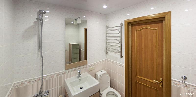 Белые оттенки покрытий комнаты