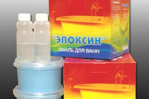 Эпоксидная эмаль для ванн