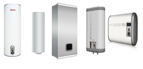 Возможные формы водонагревателей