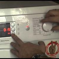 Ошибки у стиральной машины бош, обозначения и методы решения