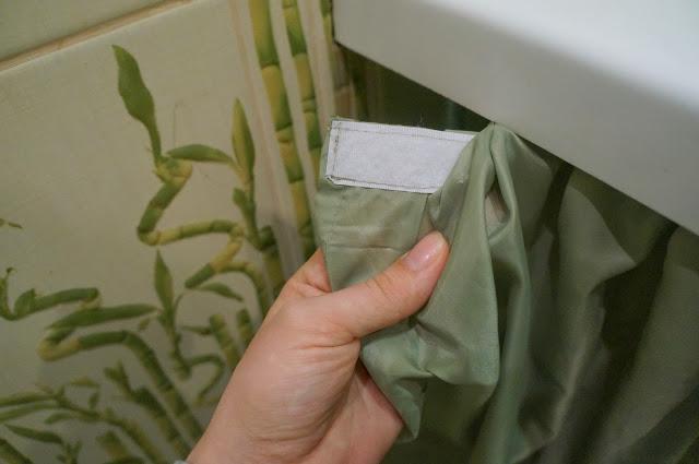 Крепление шторки к ванной
