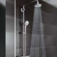 Душевые панели со смесителем и тропическим душем