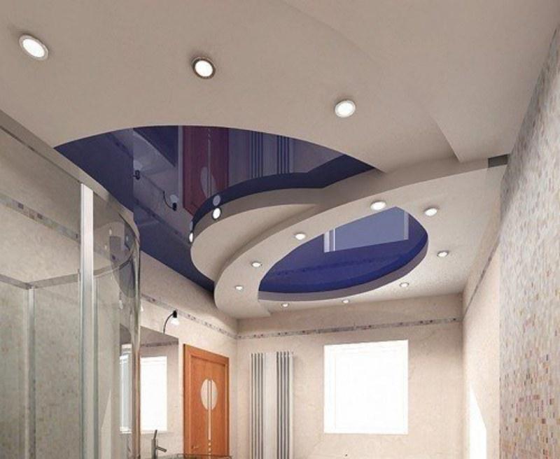 Многоуровневые натяжные потолки для дома
