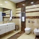Отделка стен в ванне