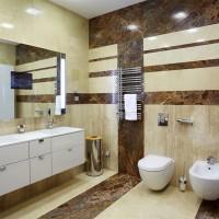 Материалы для отделки стен в ванне комнате