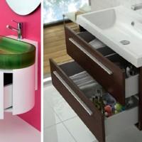 Критерии выбора шкафа под раковину для ванной комнаты