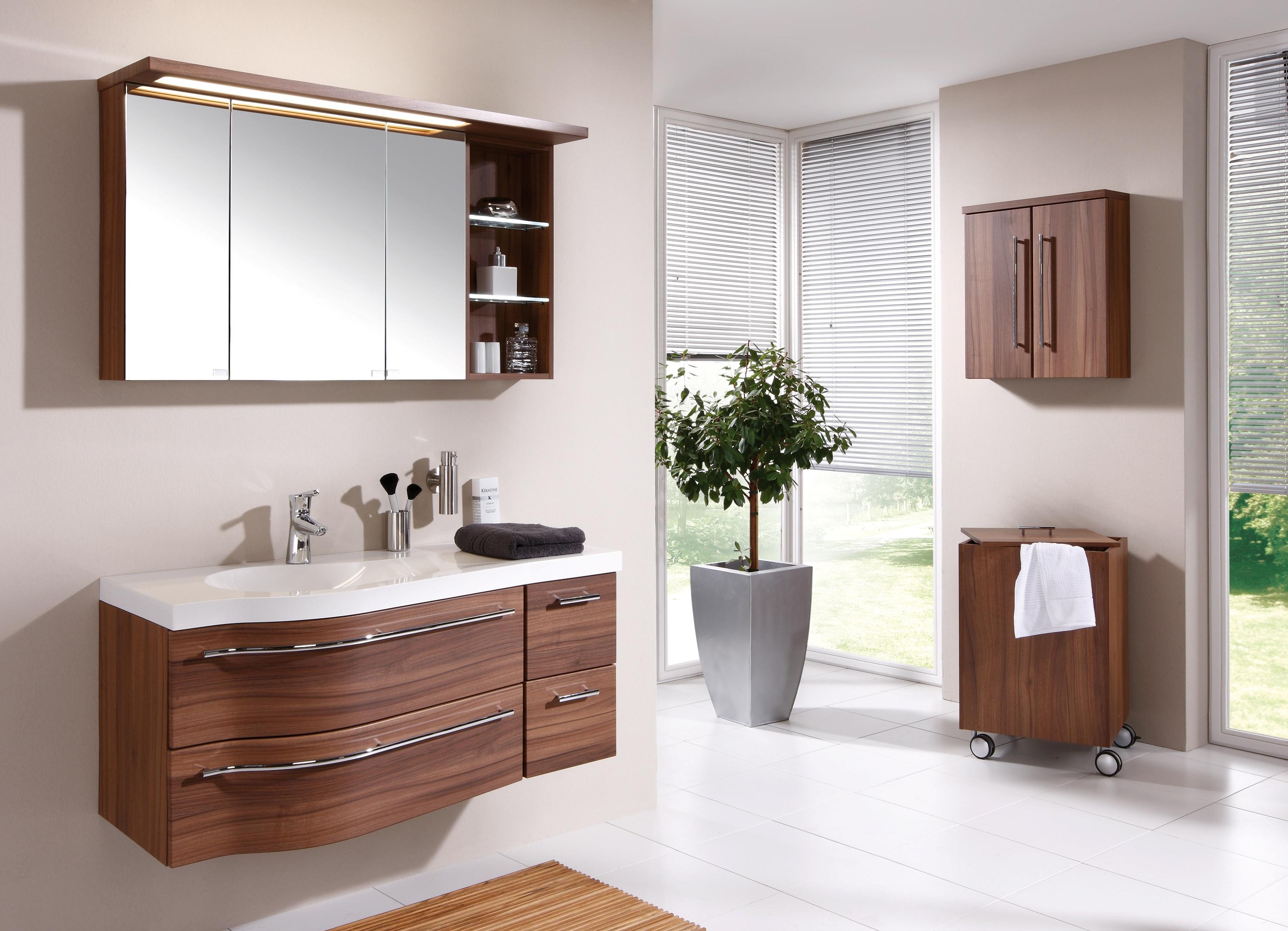 Подвесные тумбы для ванной комнаты с раковиной