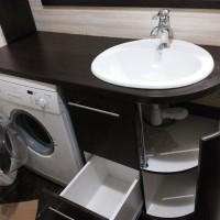 Рекомендации по выбору тумбы с раковиной для стиральной машины
