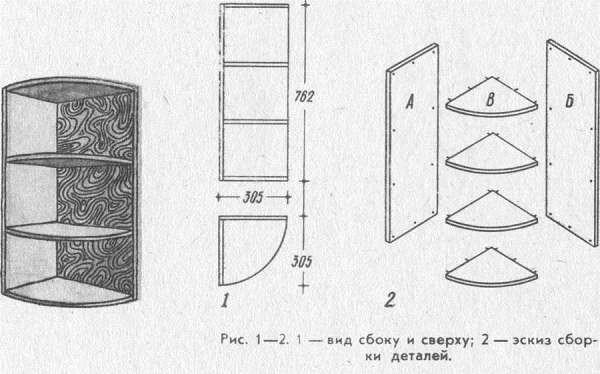 Полки для икон угловые чертежи