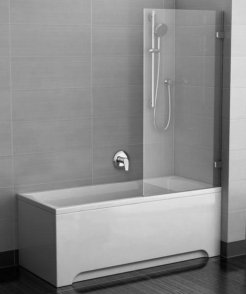 Стационарная шторка для ванной