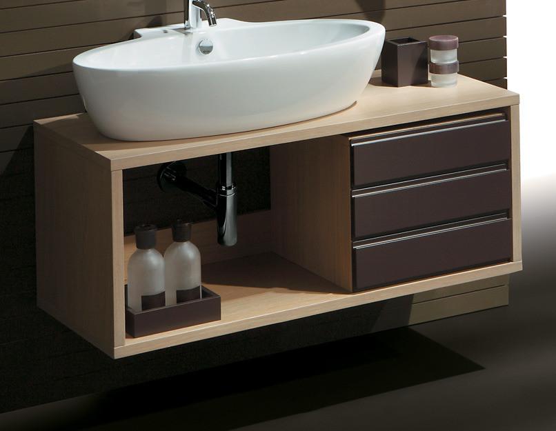 Тумба под накладную раковину для ванной