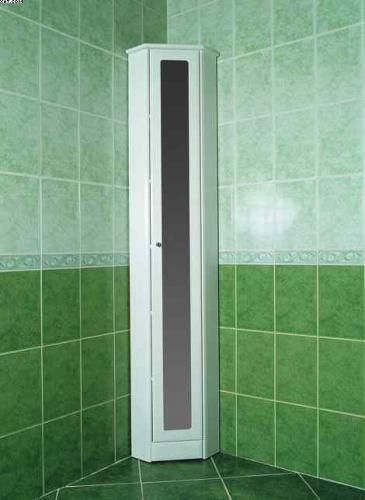 угловой шкаф для ванной