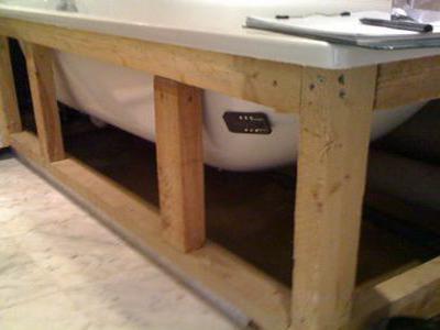 Установка металлической ванны своими руками фото 495