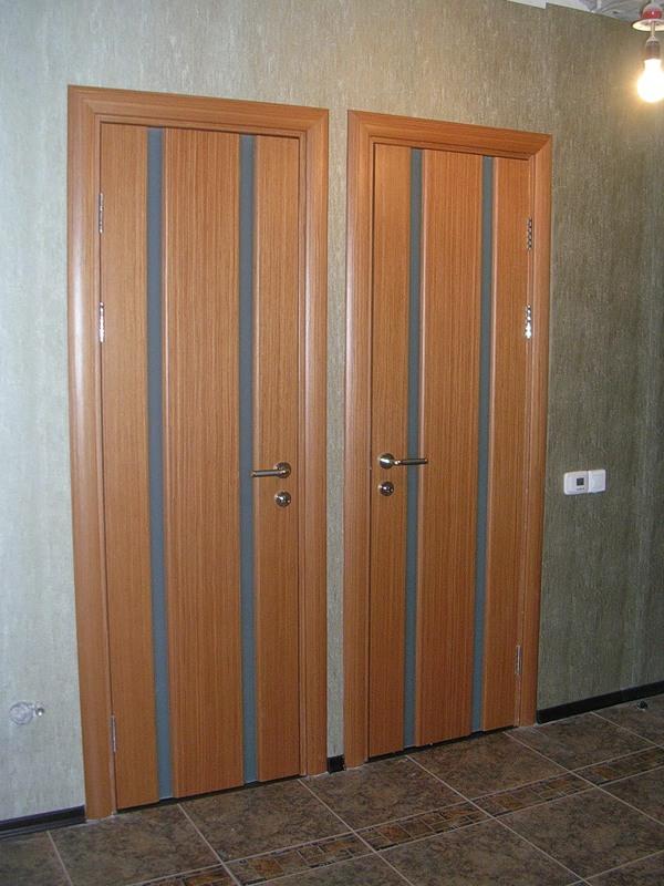 Двери для ванны и туалета из МДФ