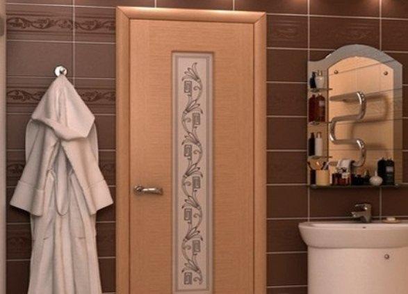 Какие двери подходят для ванных комнат