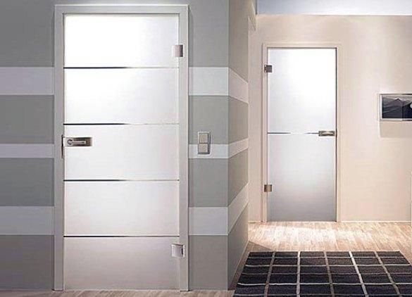 Современные двери для ванны и туалета
