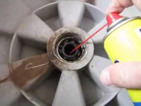 Износ подшипников в стиральной машине