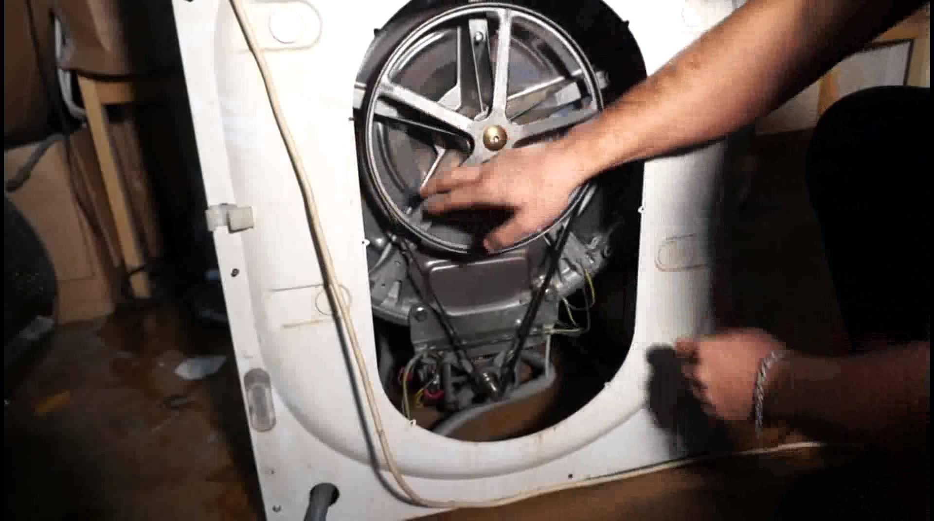Обрыв ремня стиральной машины