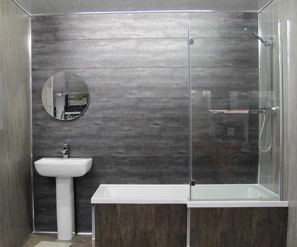 Применение серого цвета в интерьере ванной комнаты