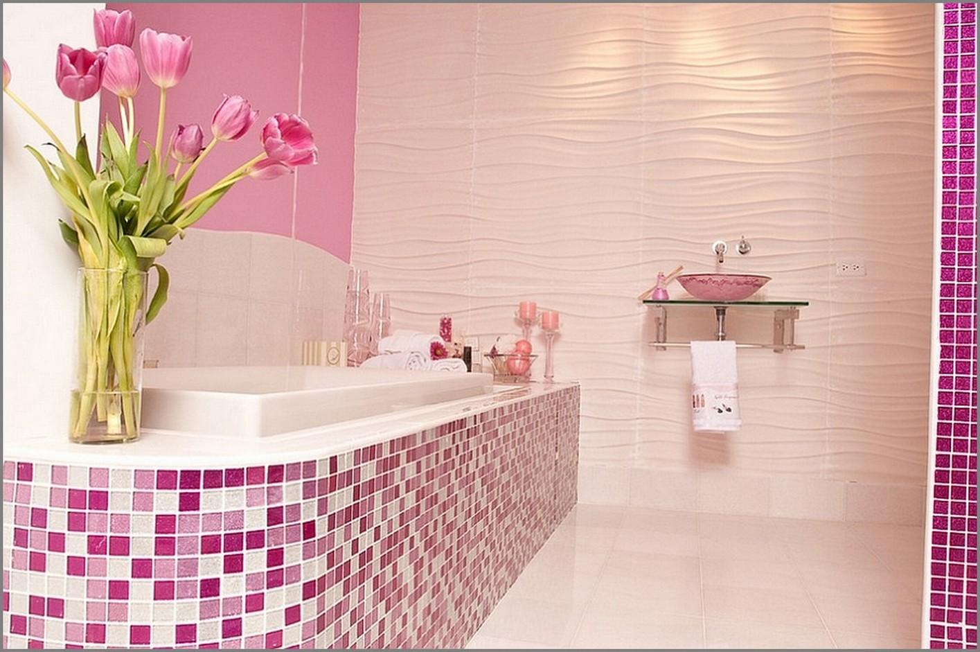 Дизайн ванны мозаика
