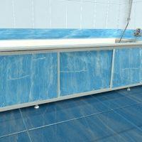 Правила установки раздвижного экрана под ванну