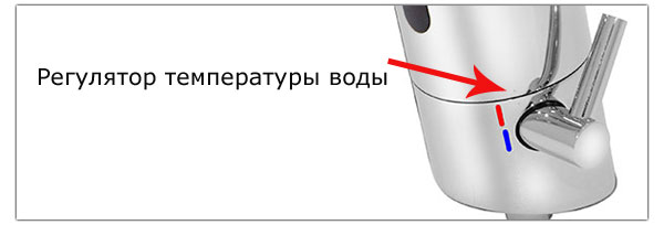 Характеристики сенсорного смесителя с регулятором температуры