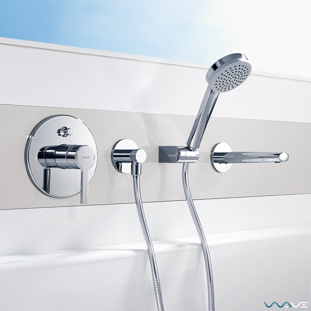 Конструкция в ванную