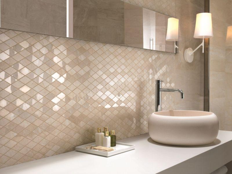 Мозаика для ванной - лучшие идеи