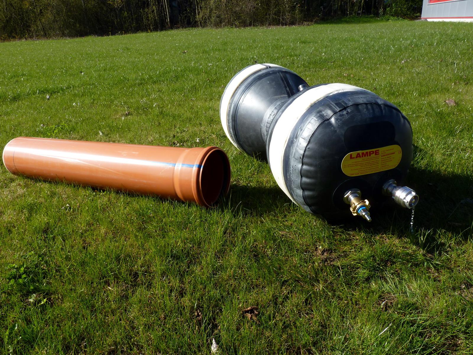 Камера для канализационных труб своими руками