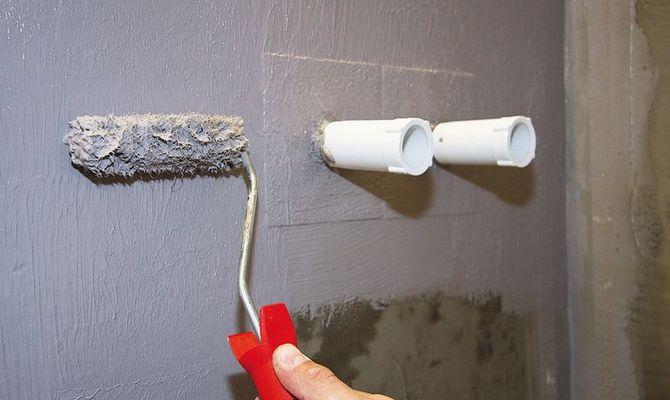 Обмазочная гидроизоляция для стен