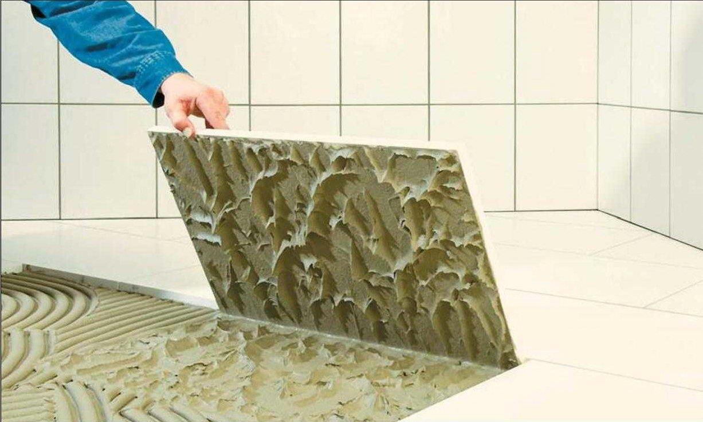Особенности установки керамической плитки
