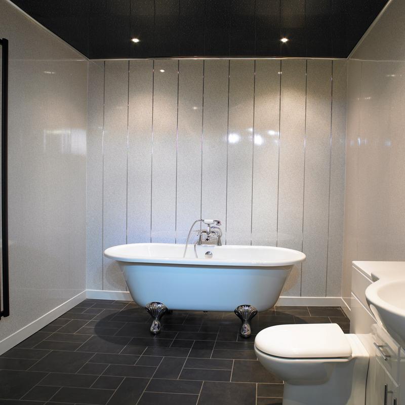ПВХ панели на стенах в ванной