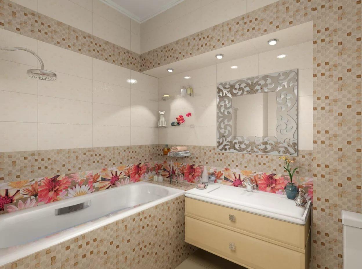 Пластиковая плитка в отделке ванной