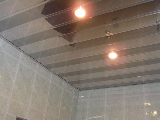 Поверхность потолка