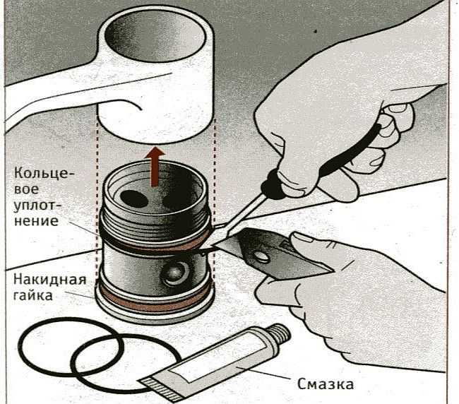 Ремонт однорычажного смесителя с подвижным изливом