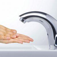 Обзор сенсорных кранов для воды