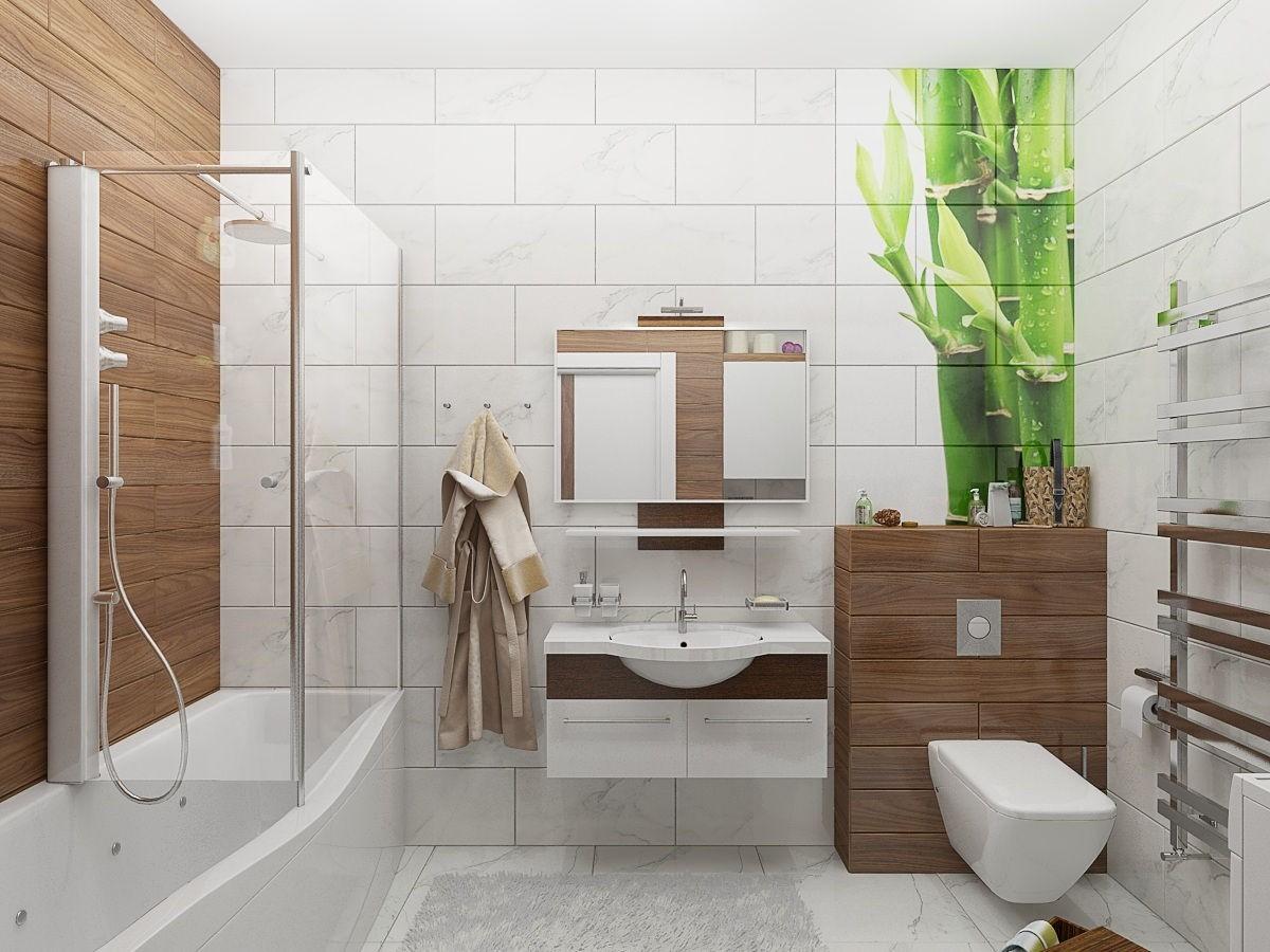 Цветовые решения современной ванны