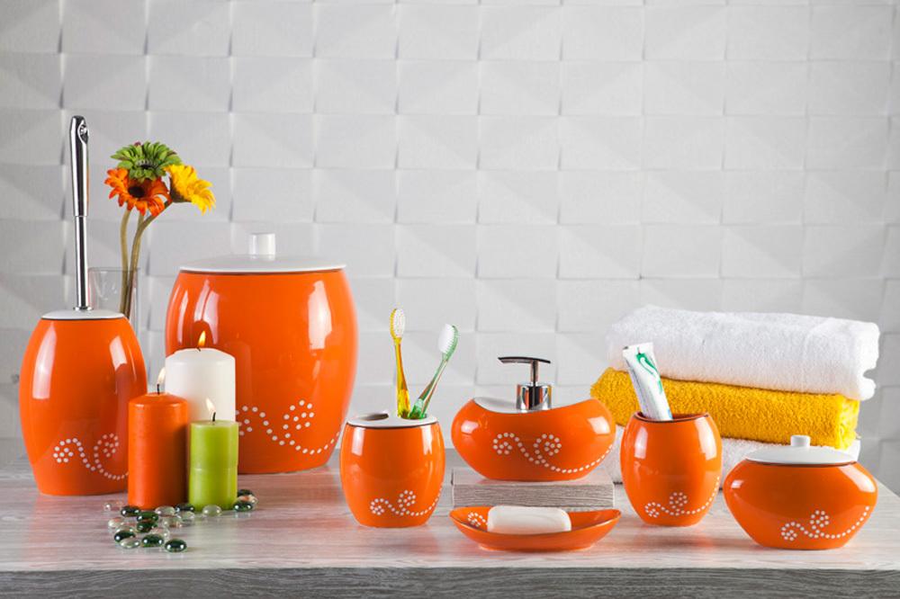 Аксессуары в оранжевом цвете