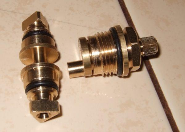Расположение прокладки на переключателе