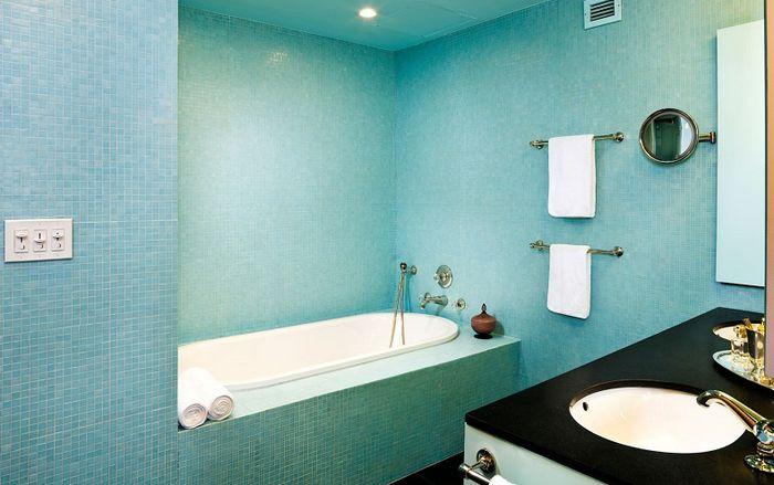 Чем красить стены в ванной комнате