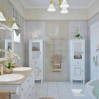 Принципы оформления стиля прованс в ванной