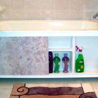 Как своими руками сделать экран под ванну, рекомендации по изготовлению