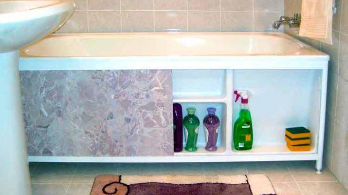 Экраны для ванн своими руками