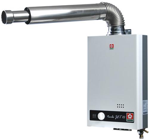Газовый проточный водонагреватель