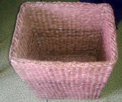 Готовая корзина для белья