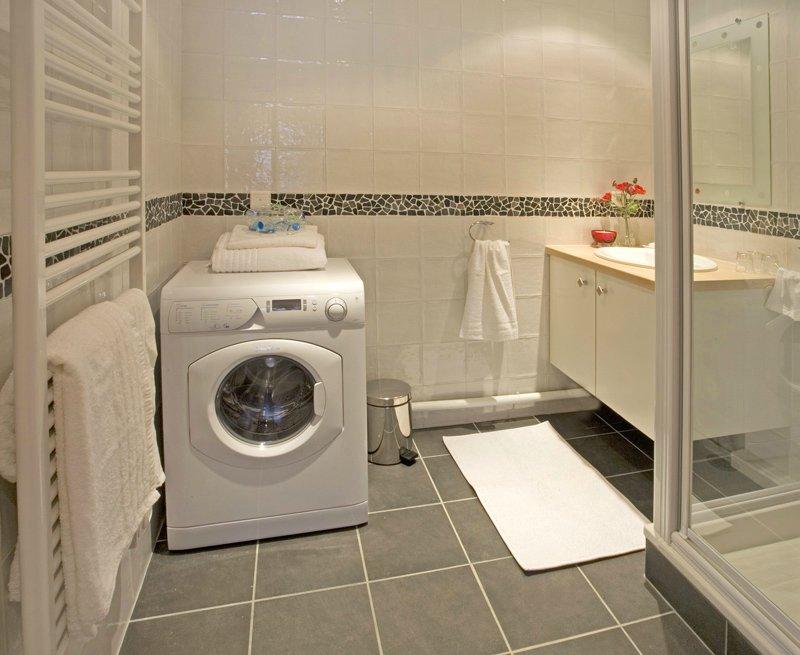 Как разместить стиральную машину