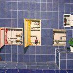 Как спрятать водопроводные трубы и сливы в ванной или на кухне