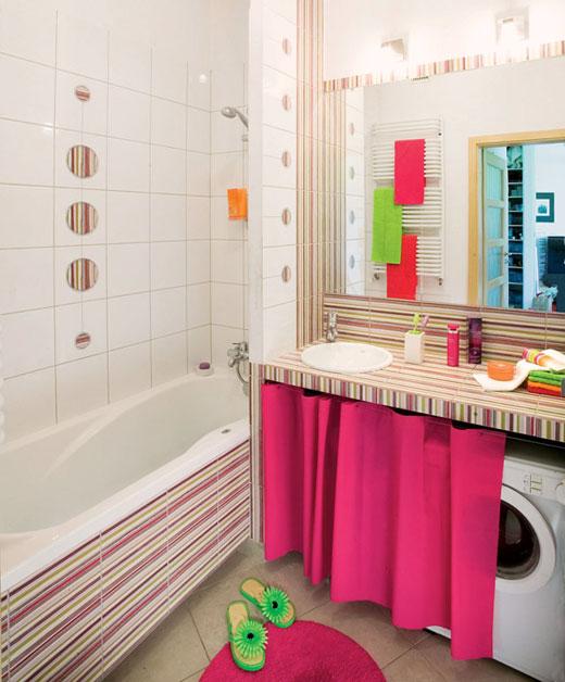 Как установить стиральную машину в маленькой ванной