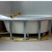 Какие бывают каркасы для ванной, обзор моделей